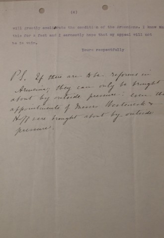Diana Apcar to Charles Jefferson, July 1, 1914, page 4