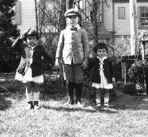 Diana Galstaun Malayan, Lionel Galstaun, Vanick Galstaun, 1920.