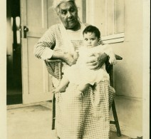 Diana with granddaughter Dorothy, circa 1923.