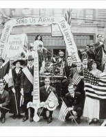 July 4, 1918, San Franciscans demonstrate in support of Armenia.