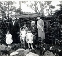 Michael Apcar and family, circa 1928.