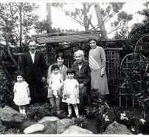 Michael Apcar and family, circa 1928.