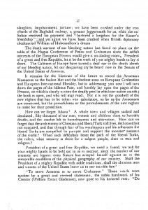 Open Letter To The Honorable President William Howard Taft, page 2.