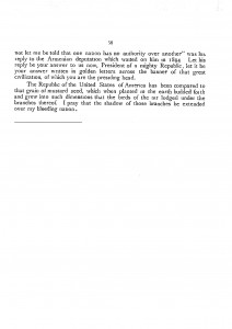 Open Letter To The Honorable President Willian Howard Taft, page 3.