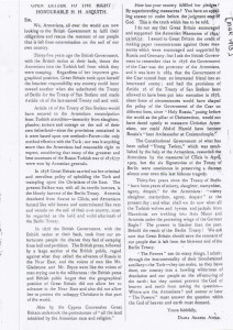 Open Letter To The Right Honourable H. H. Asquith, March 1913, ACF