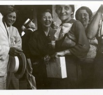Rose Apcar Galstaun, Diana's daughter, Yokohama, 1936.