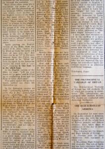 The Armenian Version Of The Bible, Hayrenik, October 1933, ACF
