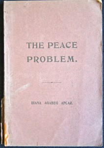 The Peace Problem, book cover, 1912, ACF